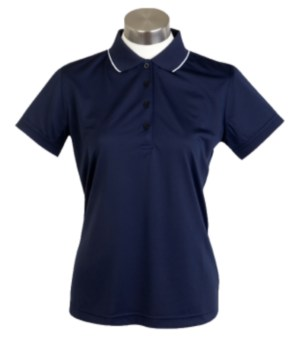 a Sporte Leisure Cook Ladies Polo Shirt in Navy