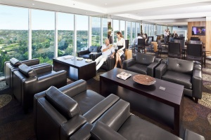 the Executive Lounge at Royal Pines Resort