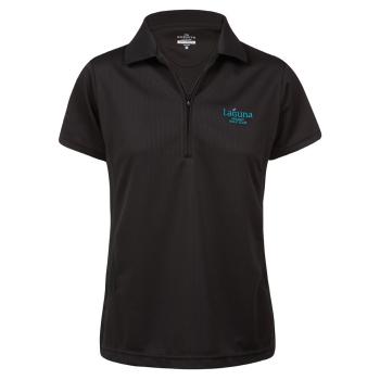 Sporte Leisure Tone Polo Shirt - Ladies - Black