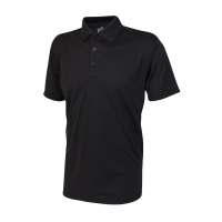 SL Tone Mens Polo Shirt Black