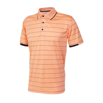 Sporte Leisure Noah Polo Shirt - Mens - Melon/ Black