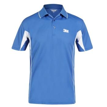 Sporte Leisure Race Polo Shirt - Mens - Bahama/White