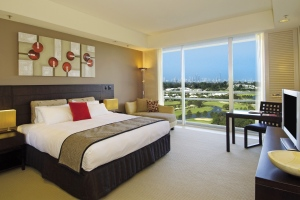 the King Room accommodation at Royal Pines Resort