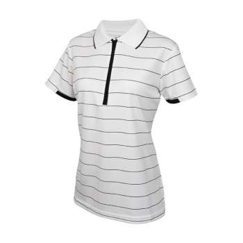 Sporte Leisure Noah Polo Shirt - Ladies - White/Black