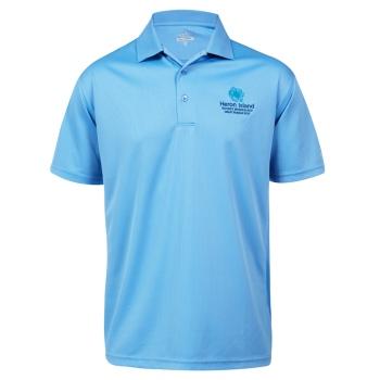 Sporte Leisure Tone Polo Shirt - Mens - Ocean