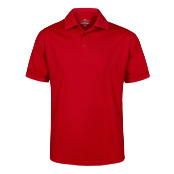 Sporte Leisure Aero Polo Shirt - Mens - Cherry